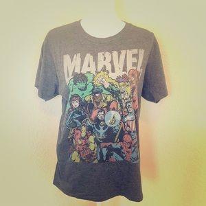 Marvel Heroes Shirt M